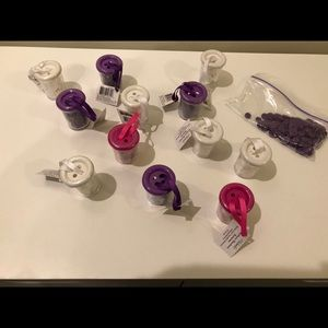 Michaels - Craft Buttons - Pink Purple and White